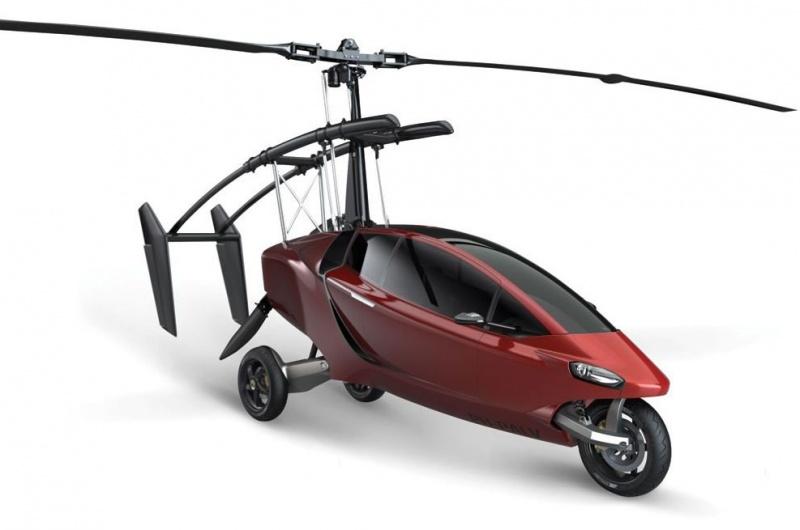 В продаже появился гибрид вертолета, мотоцикла и авто. ВИДЕО