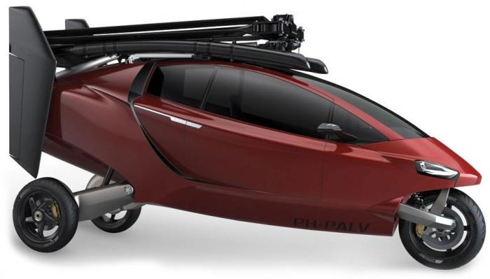 В продажу поступил гибрид вертолета, байка и авто. ВИДЕО