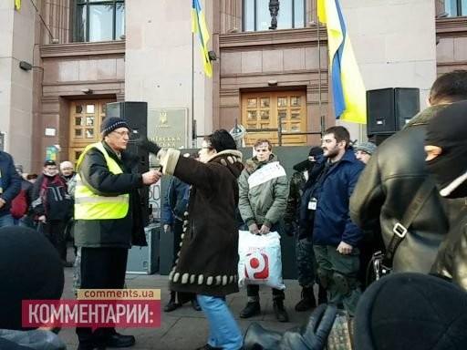 Самооборона Майдана поймала в КГГА воров из Макеевки (ВИДЕО)