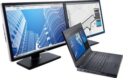 Поставки мобильных рабочих станций Dell Precision М4800