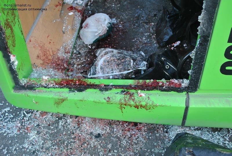 Очевидцы рассказали подробности аварии в Луганске (ВИДЕО)