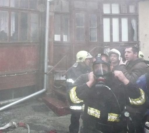 В Одессе на пожаре была убита стареющая девушка