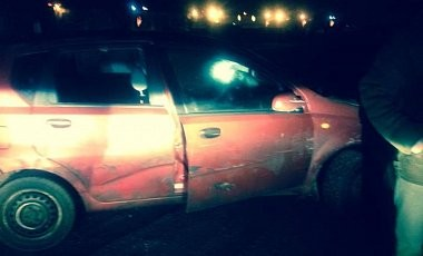 Правонарушители не раз таранили авто Чорновил (ФОТО)
