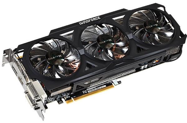 4-гигабайтный вариант видеокарты Radeon R9 270X от Gigabyte