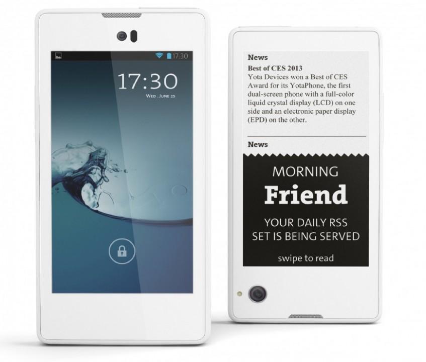 Евросеть производит YotaPhone 27 января