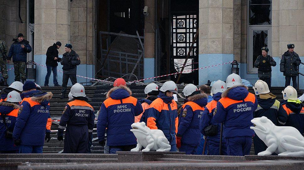 Акт в Волгограде: Обнаружена голова смертницы (ФОТО, ВИДЕО)
