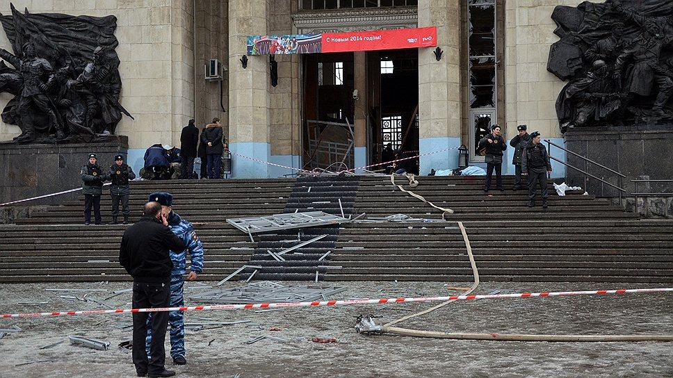 Теракт в Волгограде: Найдена голова смертницы (ФОТО, ВИДЕО)