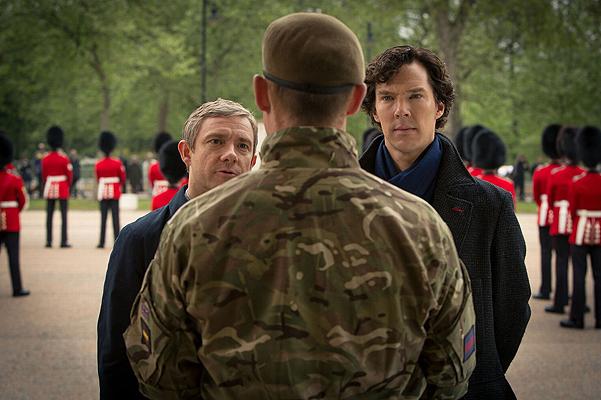 Новые фото третьего сезона: Шерлок на свадьбе Ватсона