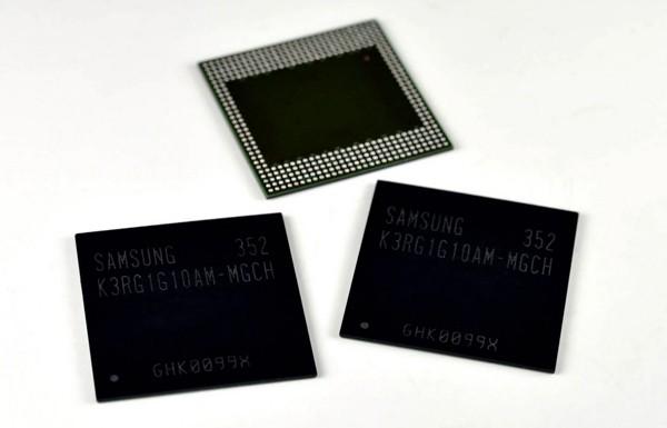 «Самсунг» сделала мобильную DRAM с насыщенностью 8 Гбит