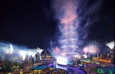 В Книгу рекордов Гиннесса попал фейерверк в Дубае (ВИДЕО)