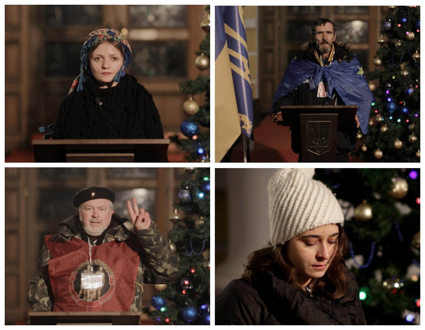 Рождественское послание народа к главе Януковичу (ВИДЕО)