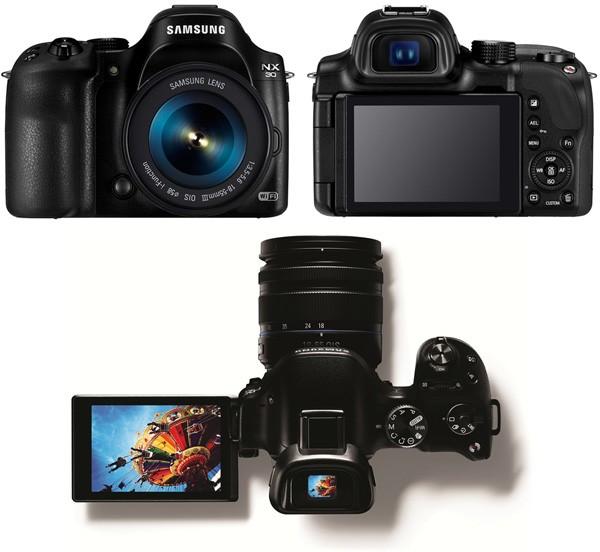 Флагманская цифровая беззеркалка Samsung NX30 Smart Camera