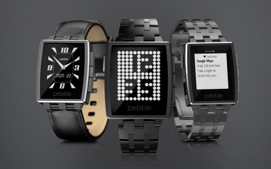 Смарт-часы Steel от Pebble в полностью металлическом корпусе