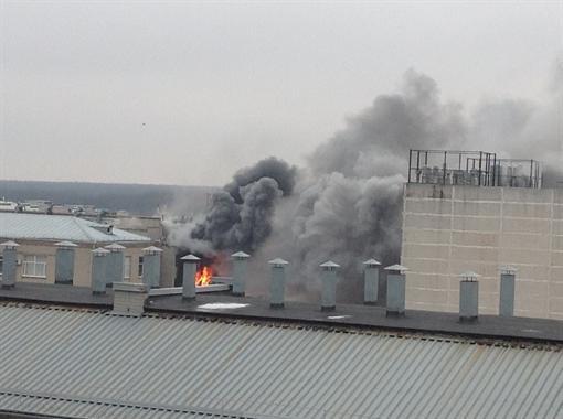 В Харькове на пожаре погиб сотрудник ювелирной фабрики
