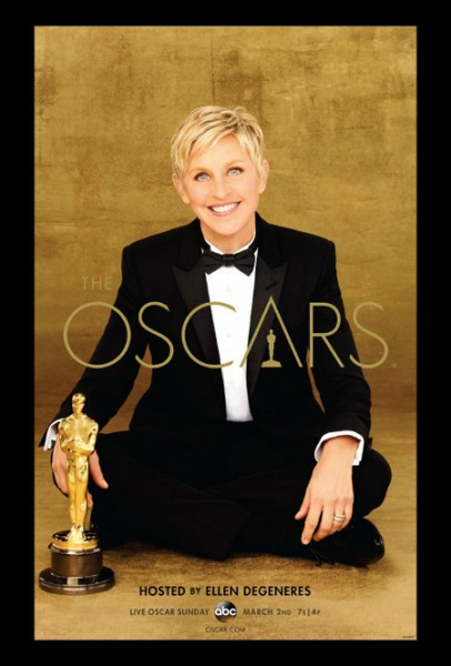 Представлен формальный плакат «Оскар - 2014»