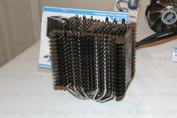 Zalman продемонстрировала свежие системы остывания для микропроцессоров