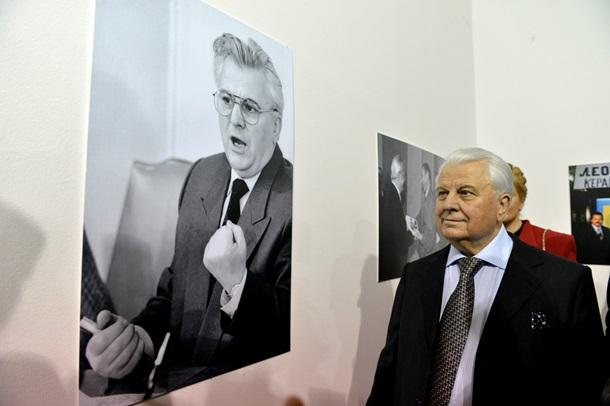 Раскрылась выставка к 80-летию Леониду Кравчуку (ФОТО)