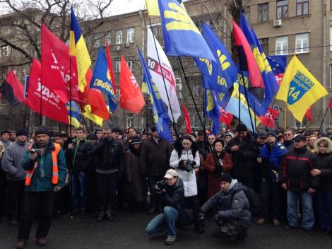 Как функционеры под окнами Захарченко колядовали