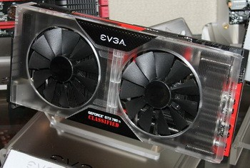 Карта памяти EVGA GTX 780 Ti Classified k|ngp|n Edition