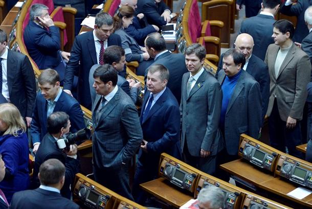 Репортаж с первого совещания Рады после торжеств. ФОТО