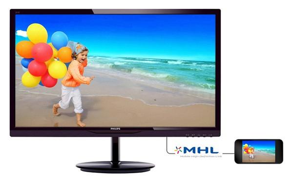 """Philips 284E5QHAD/00: 28"""" Full HD-дисплей на MVA-панели"""