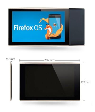 Первый планшетник на Firefox OS обретет HD-дисплей