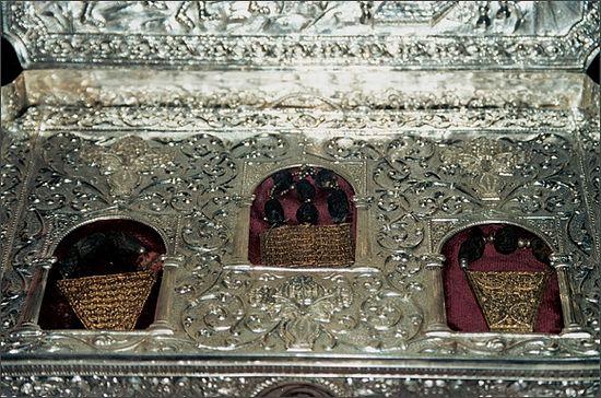 24 февраля в Киев доставят святыню Дары волхвов