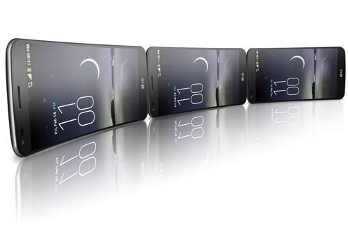Меандрический телефон «ЭлДжи» G Flex выходит в январе