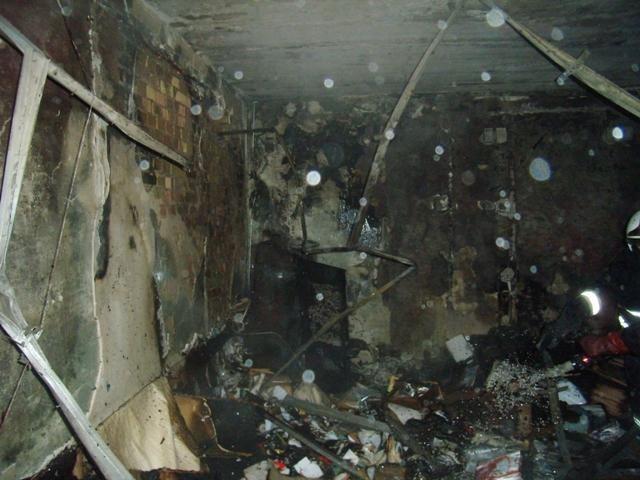 В Киеве пылал один из корпусов института имени Актау