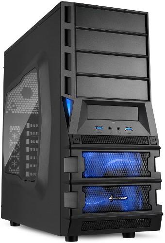 Sharkoon предлагает недорогой, многофункциональный каркас Vaya II