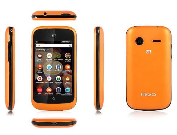 Сверхбюджетный телефон на Firefox OS с HD-дисплеем