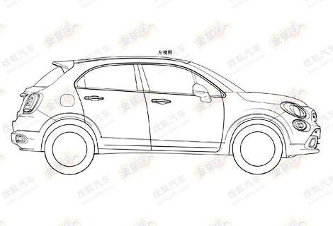Фиат запатентовал внешний вид нового авто