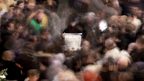В Киев доставили чудодейственные Дары волхвов