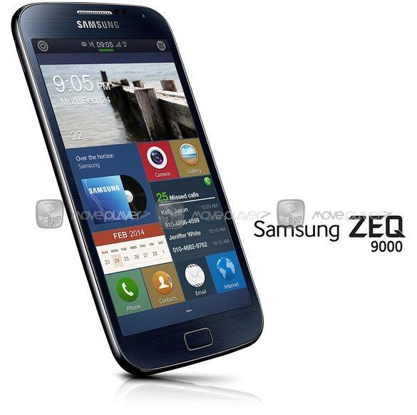 1-ое фото телефона на основе ОС Tizen: «Самсунг» Zeq 9000