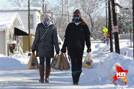 В Соединенных Штатах пришли сибирские холода