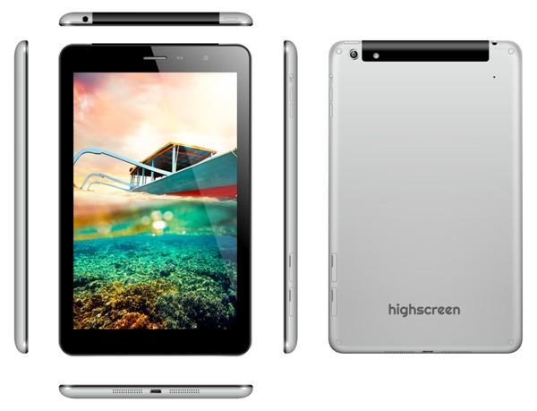 Highscreen на рынке микропланшетов с модификацией Alpha Tab