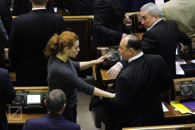 Оробец пострадала в процессе голосования законопроекта об амнистии
