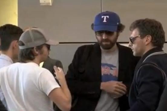 Daft Punk застигнули без шлемов