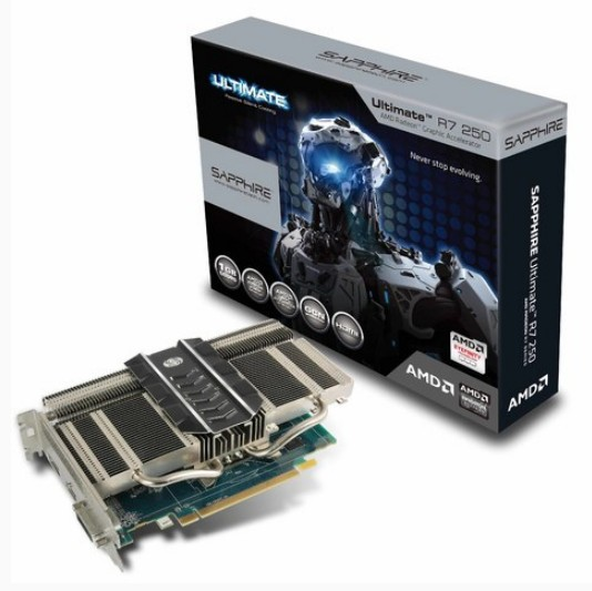 Sapphire Technology делает адаптер Radeon R7 250 Ultimate