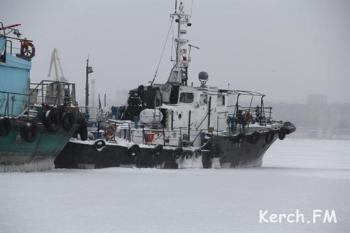 В Крыму леденеет Керченский пролив (ФОТО)