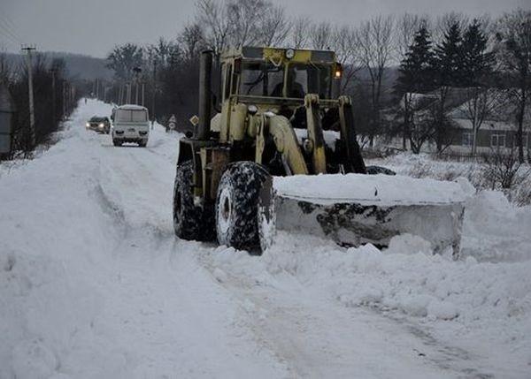Украина леденеет от свирепых холодов