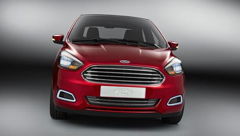 Форд продемонстрировала компакт-седан Figo