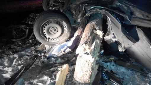 В Киеве Audi на большой скорости опрокинулась (ФОТО)