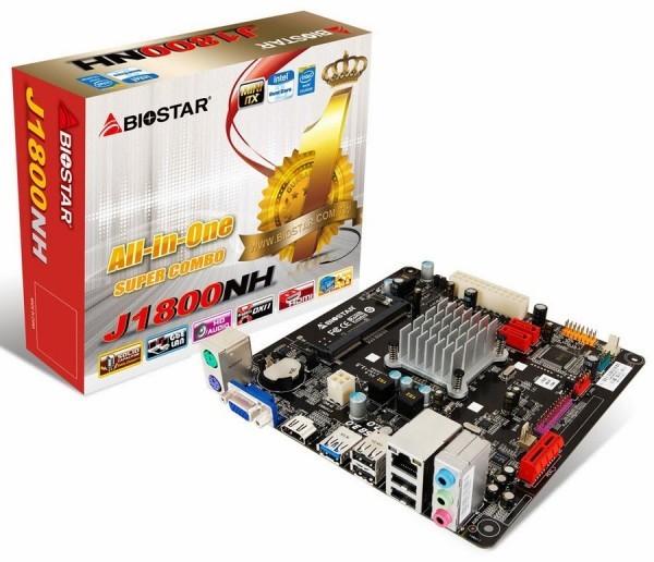 Оперативные памяти на микропроцессоре Intel от Biostar и Gigabyte