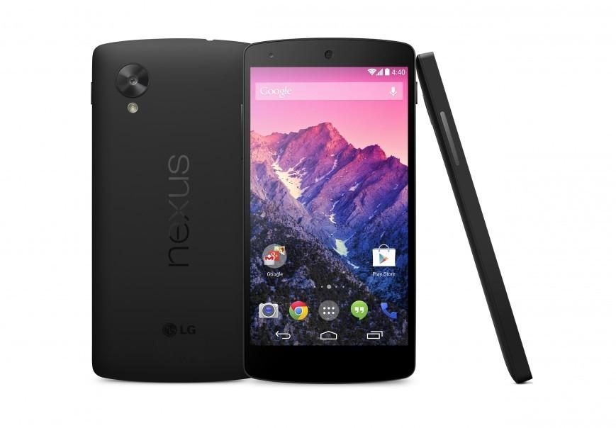 Телефон Nexus 5 с 32 Гигабайт поступает в реализацию в РФ
