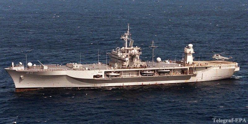 В акваторию Черного моря вошли 2 боевых фрегата США