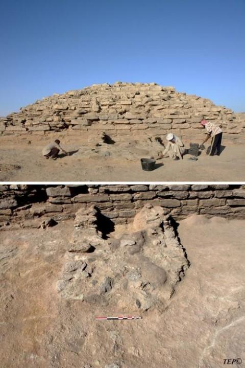 В Египте обнаружили эксклюзивную пирамиду