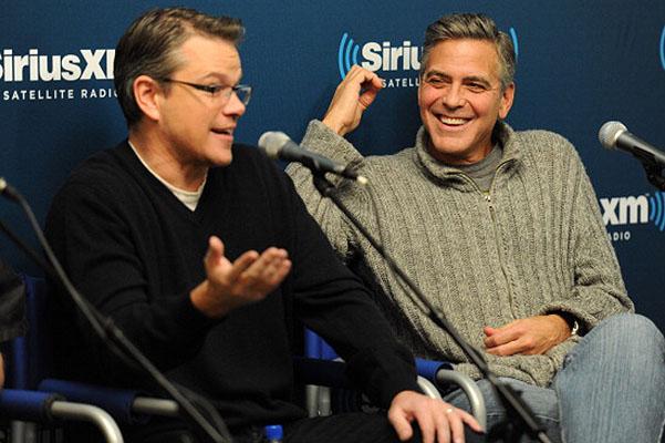 """Джордж Клуни продемонстрировал """"Охотников за драгоценностями"""""""