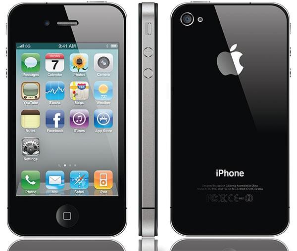 2-ое появление: Эпл Айфон 4