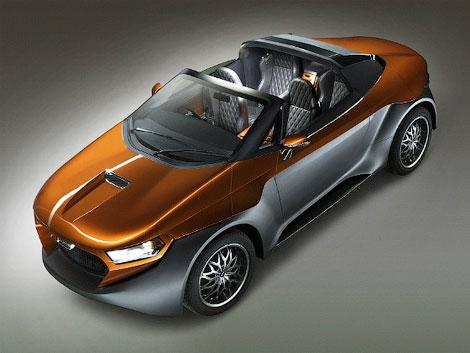 DC Design продемонстрировала 2 футуристических авто